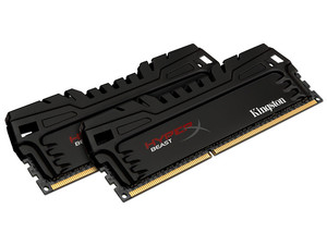 Memoria Kingston HyperX Beast DDR3 PC3-17066 (2133MHz), CL11, 16 GB (2 x 8 GB), Kit con dos piezas de 8 GB.