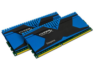 Memoria Kingston HyperX Predator DDR3 PC3-19200 (2400MHz), CL11, 8GB (2 x 4GB), Kit con dos piezas de 4GB.