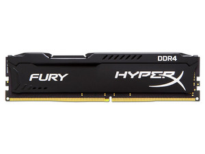 Memoria Kingston HyperX Fury DDR4, 2133MHz, CL14, 16 GB.