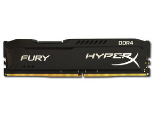 Memoria Kingston HyperX Fury DDR4, PC4 19200 (2400MHz), CL15, 8 GB.