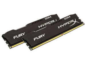 Memoria Kingston HyperX Fury DDR4, PC4-19200 (2400MHz), CL15, 16 GB, (2 x 8)