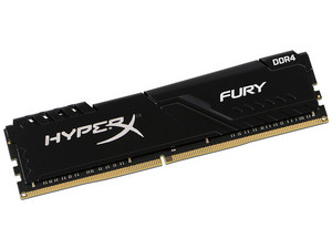 Memoria RAM Kingston Hyper X Fury DDR4 PC4-19200 (2400MHz), CL15, de 16GB.