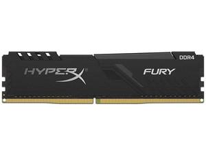 Memoria DIMM Kingston FURY Black DDR4, PC4-21300 (2666MHz), CL16, 16GB.