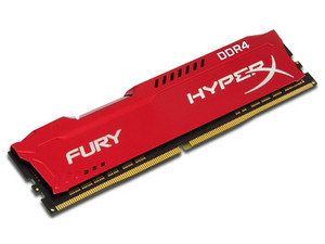 Memoria Kingston HyperX Fury DDR4 PC4-21300 (2666MHz), CL16, 8GB.