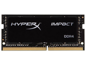 Memoria Kingston HyperX Impact DDR4 PC4-21300 (2666MHz), CL15, 16GB. Color Negro.