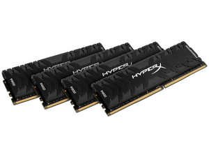 Memoria Kingston HyperX Predator, PC4-24000 (3000 MHz), CL15, 16GB (4 x 4 GB).