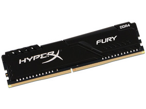 Memoria Kingston HyperX Fury DDR4, PC4-25600 (3200MHz), CL16, 8 GB.