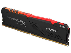 Memoria Kingston HyperX Fury DDR4 PC4-25600 (3200MHz), CL16, 8GB.