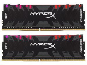 Memoria HyperX Predator HX432C16PB3AK2/32, RGB, DDR4, PC4-25600 (3200MHz), CL16, 32GB (2x16GB).