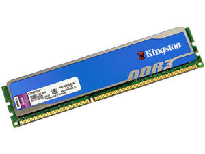 Memoria Kingston HyperX blu DDR3, PC3-12800 (1600 MHz) CL9, 4GB