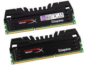 Memoria Kingston HyperX Beast DDR3 PC3-12800 (1600MHz), CL9, 8GB (2 x 4GB), Kit con dos piezas de 4GB.