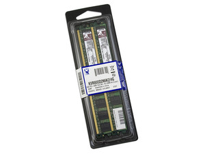 Memoria Kingston 4GB (2 x 2GB) DDR2 SDRAM (800MHz - PC2-6400) Dual Channel, Kit con dos piezas de 2GB