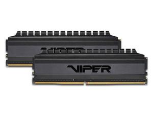 Memoria RAM Patriot Viper 4 Blackout, 16 GB (2 x 8GB), DDR4, 3600MHz (PC4-28800), Non ECC, CL17.