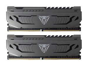 Memoria Patriot Viper Steel DDR4 PC4-25600 (3200MHz), 16 GB (2 x 8GB). Color Negro.