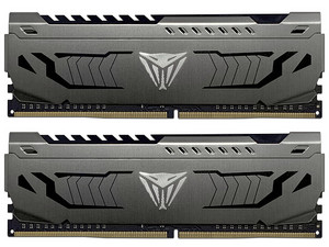 Memoria RAM Patriot Viper Steel, 16 GB (2 x 8GB), DDR4, 4000MHz (PC4-32800), Non ECC, CL19.