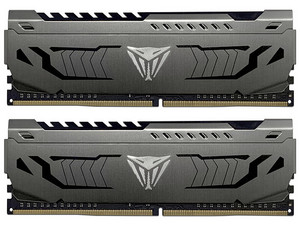 Memoria RAM Patriot Viper Steel, 16 GB (2 x 8GB), DDR4, 4400MHz (PC4-35200), Non ECC, CL19.