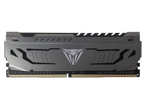 Memoria Patriot Viper Steel DDR4, PC4-25600 (3200MHz), CL16, 8 GB. Color Gris.