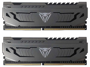 Memoria RAM Patriot Viper Steel Series, 8GB (2 x 4GB), DDR4, 3200MHz (PC4-25600), Non ECC, CL16.