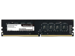 Memoria Teamgroup  Elite DDR4 PC4-19200 (2400MHz), CL16, 8GB.
