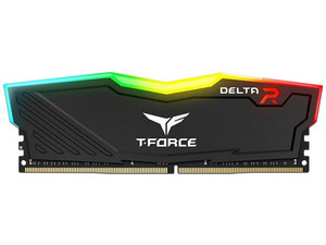 Memoria TEAMGROUP T-FORCE DELTA RGB DDR4 PC4-25600 (3200MHz), CL16, 8GB.