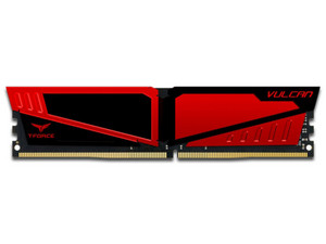 Memoria Teamgroup T-Force Vulcano DDR4 PC4-19200 (2400MHz), CL15, 8GB.