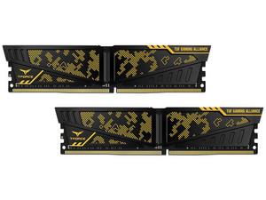Kit de Memorias Teamgroup VULCAN TUF Gaming Alliance, DDR4, PC4-25600 (3200MHz), CL16, 16GB (2x8GB).
