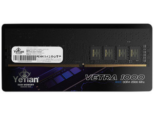 Memoria Yeyian Vetra 1000 DDR4 PC4-21300 (2666MHz), CL19, 8GB. Color Negro.