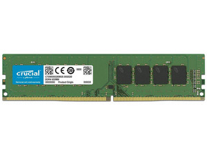 Memoria Crucial DDR4 PC4-21300 (2666 MHz), CL19, 8GB.