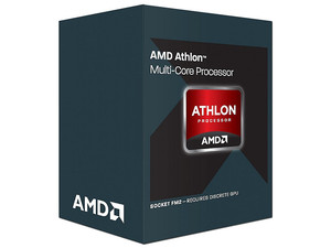 Procesador AMD Athlon X2 370K a 4.0 GHz (hasta 4.2 GHz), Socket FM2, Dual-Core, 32nm, 65W.