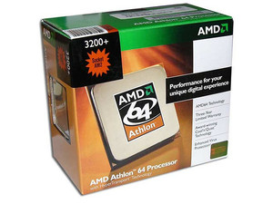 Procesador AMD Athlon 64 3200+, 2.0GHz, Cache 512KB L2, Socket AM2, En caja.