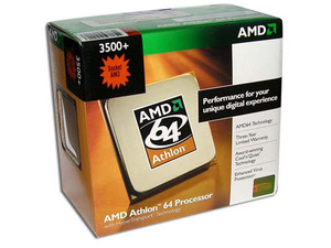 Procesador AMD Athlon 64 3500+, 2.2GHz, Cache 512KB L2, Socket AM2, En caja.