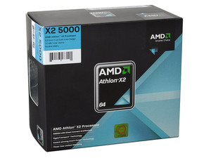 Procesador AMD Athlon X2 5000+, Dual Core a 2.2GHz, Cache L2 2x512KB, Socket AM2+