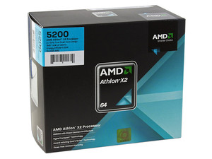 Procesador AMD Athlon 64 X2 5200+, Dual Core a 2.7GHz, Cache L2 2x640KB, HT 2000MHz, Socket AM2.