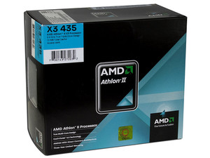 Procesador AMD Athlon II X3 435, 2.9GHz, Cache 1.5MB, Socket AM3, Triple Core, 95W.