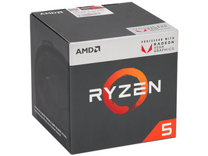 Procesador AMD Ryzen 5 2400G, 3.6 GHz (hasta 3.9 GHz) con gráficos Radeon Vega 11, Socket AM4, Quad-Core, 65W. Obtenga Division 2 Gold Edition y World War Z en formato digital Gratis