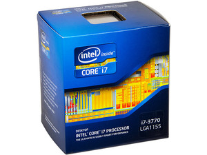 Procesador Intel Core i7-3770 de Tercera Generación, 3.4 GHz (3.9GHz Turbo) con Intel HD Graphics 4000, Socket 1155, L3 Cache 8MB, Quad-Core, 22nm.