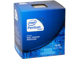 Procesador Intel Pentium G640 a 2.8 GHz con Intel HD Graphics, Socket 1155, L3 Cache 3MB