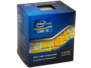 Procesador Intel Core i5 3570K Desbloqueado a 3.4GHz (3.8GHz Turbo Boost), con Intel HD Graphics 4000, Socket 1155, L3 Caché 6MB, Quad-Core, 22nm.