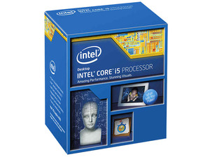 Procesador Intel Core i5-4690 de Cuarta Generación, 3.5 GHz (hasta 3.9 GHz), con Intel HD Graphics 4600, Socket 1150, L3 Caché 6 MB, Quad-Core, 22nm.