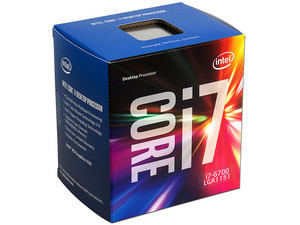 Procesador Intel Core i7-6700 de Sexta Generación, 3.4 GHz con Intel HD Graphics 530, Socket 1151, L3 Caché 8 MB, Quad-Core, 14nm.