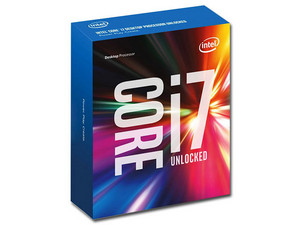 Procesador Intel Core i7-6800K a 3.4 GHz (hasta 3.8 GHz), Socket 2011-v3, Caché 15 MB, Six-Core, 14nm.