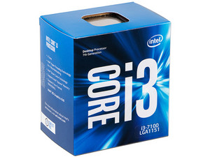 Procesador Intel Core i3-7100 de Séptima Generación, 3.9 GHz con Intel HD Graphics 630, Socket 1151, L3 Caché 3 MB, Dual-Core, 14nm.