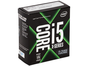 Procesador Intel Core i5-7640X de la Serie X, 4.0 GHz (hasta 4.2 GHz), Socket 2066, Caché 6 MB, Quad-Core, 14nm.