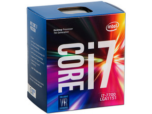 Procesador Intel Core i7-7700 de Séptima Generación, 3.6 GHz (hasta 4.2 GHz) con Intel HD Graphics 630, Socket 1151, L3 Caché 8 MB, Quad-Core, 14nm.