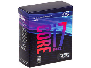 Procesador Intel Core i7-8700K de Octava Generación, 3.7 GHz (hasta 4.7 GHz) con Intel UHD Graphics 630, Socket 1151, Caché 12 MB, Six-Core, 14nm.