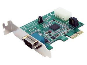 StarTech Tarjeta PCI Express 1 Puerto Serial RS232