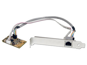 StarTech Tarjeta de Red Mini PCI Express 1 Puerto Gigabit Ethernet RJ45