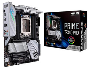 T. Madre ASUS PRIME TRX40, Chipset AMD TRX40, Soporta: AMD Ryzen Threadripper 3ra Gen, Memoria: DDR4 3200/2666/2133 MHz, 256GB Máx, Integrado: Audio HD, Red Gigabit, USB 3.1, ATX, Ptos: 3xPCIEx16