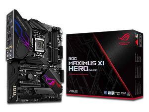T. Madre Asus ROG MAXIMUS XI Hero (Wi-Fi), Chipset Intel Z390, Soporta: Intel Core i3/i5/i7 de 8va y 9na Gen, Socket 1151, Memoria 4400(O.C)/3400(O.C.)/2133 MHz, 64GB Max, Integrado: Audio HD, Red, USB 3.1 y SATA 3.0, ATX, Ptos: 2xPCIEX16, 3xPCIEX1.