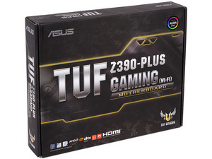 T. Madre ASUS TUF Z390-PLUS GAMING (WI-FI), Chipset Intel Z390, Soporta:Core i9 / i7 / i5 / i3 de 9na y 8va gen, Socket 1151, Memoria: DDR4 4266(OC)/3200(OC)/2133 MHz, 64GB Max, Integrado: Audio HD, Red, USB 3.1 y SATA 3.0, ATX, Ptos: 2xPCIEX16.